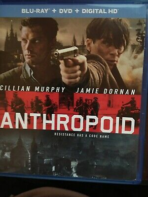 "Anthropoid (Blu-ray/DVD, 2016, 2-Disc Set) ""NEAR M(NT""  (BUY 2, SAVE 3)  DEAL !!"