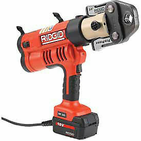 "Ridgid® RP 340 Corded Press Tool Kit w/ProPress Jaws, 1/2""-1"", 43368"