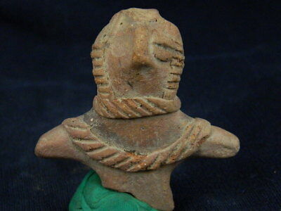Ancient Teracotta Mother Goddess Torso Indus Valley 600 BC #TR8002