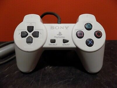 Sony Playstation 1 PS1 Official White Control Pad Controller