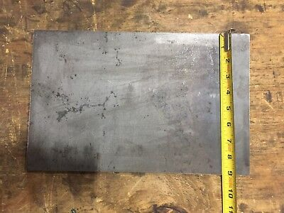 """3/16 A36 Steel Plate Stock Rectangle Made in USA (Dimensions .1875 X 9"""" X 14"""")"""