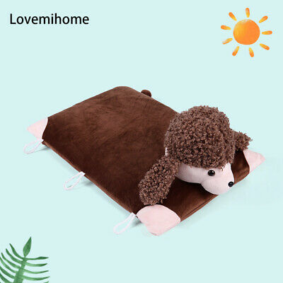 Sheep Pillow - 100% Natural Latex Pillow with Case - Foldable Pillow Toy