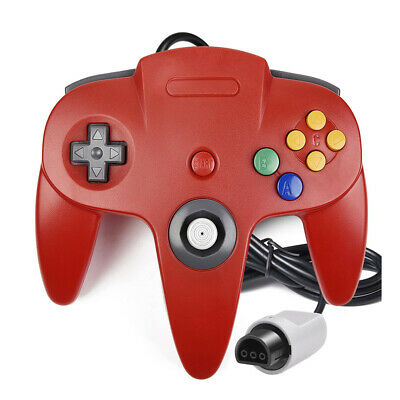 Classic N64 Retro Wired Game Controller Gamepad Joystick for Nintendo 64 Console
