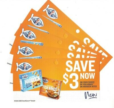 12 x Save $3.00 on High Liner Products Coups (Canada)