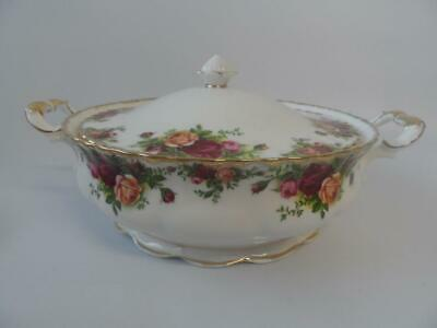 Royal Albert Old Country Roses Lidded Tureen 1St Quality 1962 England