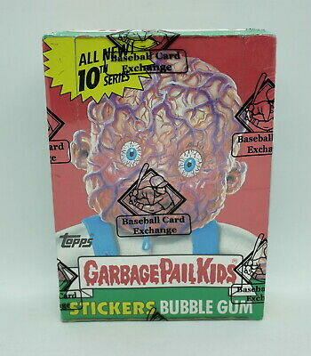 GARBAGE PAIL KIDS 2008 Topps GPK Series 10 (w/$0.25) CARD BOX *BBCE SEALED BOX*
