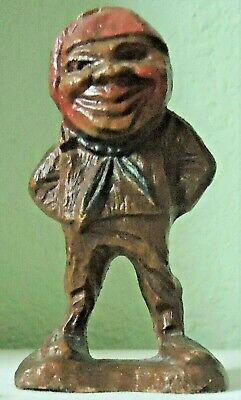 Vintage  ~~  Pirate ~~  Syroco Wood Figure ~~ 4 inch