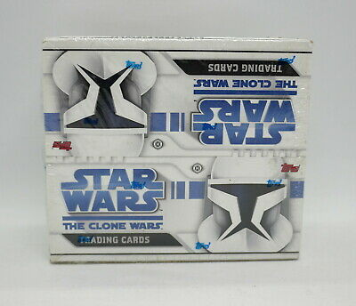 "Star Wars ""The Clone Wars"" 2008 Topps Hobby (24 Packs) Box *Factory Sealed Box*"