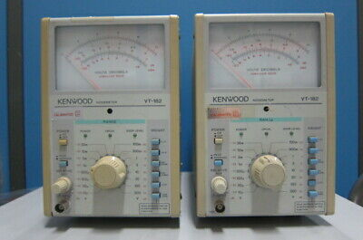 Kenwood VT-182 Ultra High Sensitivity Electronic Voltmeter (Noise Meter)