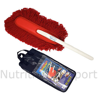 The Original California Car Duster Created Out of Durable Cotton Fibers, Which