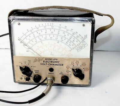 Hickok 470 Electronic Volt-Ohm Meter