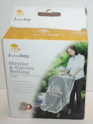 Jeep Stroller and Carrier Netting Mesh Insect Cover *Open Packaging*