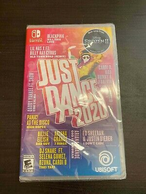 Just Dance 2020 (Nintendo Switch) Brand New Factory Sealed