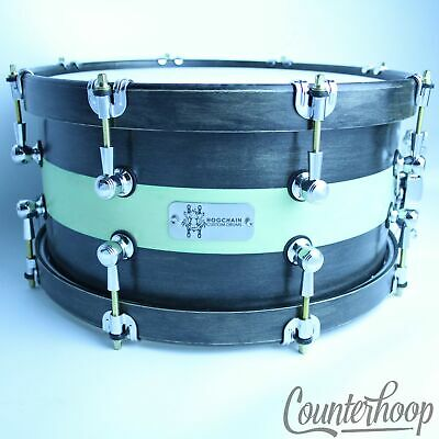 ROODIMENT 14/'/' WOOD MAPLE SNARE DRUM HOOPS LAQUERED PAIR TOP /& BOTTOM 10 LUG