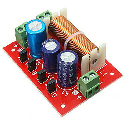 400W Speaker Crossover 2 Way High-Low 4-16 Ohm Frequency Divider for Speake M6M2