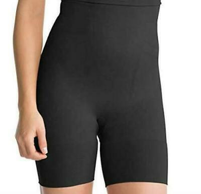 Assets by Sara Blakely Fantastic Firmers Mid Thigh Shaper  Women' Plus  1X/Black
