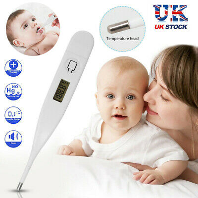 Medical Oral Digital LCD Thermometer Baby Adult Body Safe Ear Temperature Aid