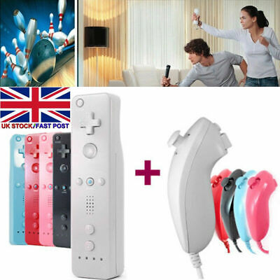 Brand New Remote Controller For Nintendo Wii & Wii U + Silicone + Strap Uk Post