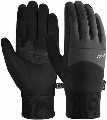 Winter Warm Gloves Touch Screen Gloves Anti-slip Cycling Gloves Sport Gloves - S