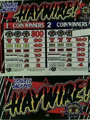 IGT Used S-Plus slot machine $$ STYLE DOUBLE JACKPOT 5B CH REEL STRIPS