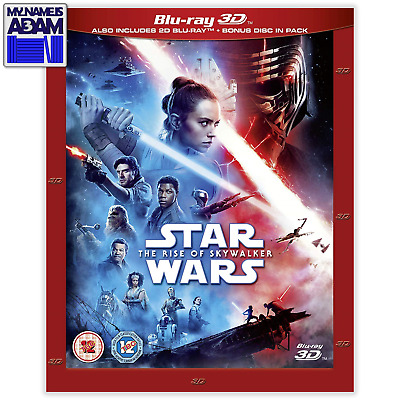 STAR WARS: THE RISE OF SKYWALKER Blu-ray 3D + 2D (REGION-FREE) PRE-ORDER NOW!
