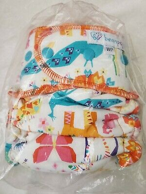 NEW! Beanpop Hybrid Fitted Cloth Diaper