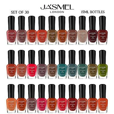 30 X Nail Polish Varnish Set А 30 Different Modern Colours, Best Gift (Limited)