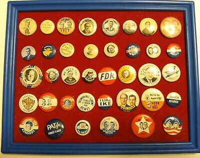 Reproduction US Presidential Campaign Buttons/Pins