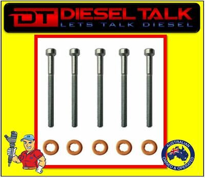 WASHER /& O/'RING X 4 ILOAD 2.5 CRDI COMMON RAIL DIESEL INJECTOR KIT