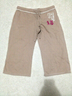 Xhilaration Brown Drawstring Sleepwear Pants Women's M Medium Cotton Blend
