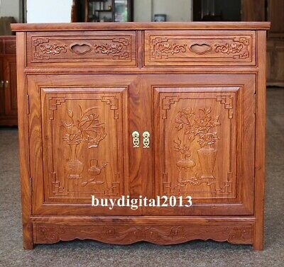 China rosewood palisander handcarved wood Cabinets shoe cabinet cupboard drawer