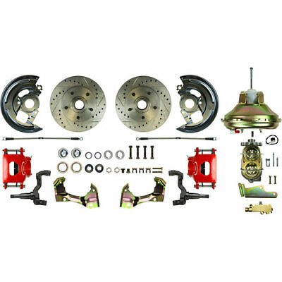 Right Stuff AFXDC02CZ GM Power Disc Brake Conversion