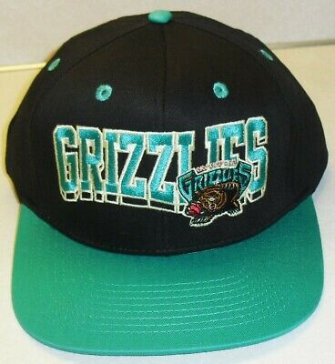 Grizzlies /'CHENILLE-ARCH SNAPBACK/' Black-Teal Hat by New Era