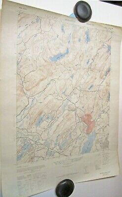 1947 Topographical Map Boonton New Jersey