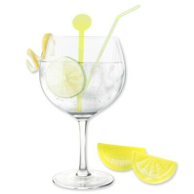 LARGE GIN BOWL GLASS & ICE CUBES Happy Hour Balloon Drinking Birthday Gift Set