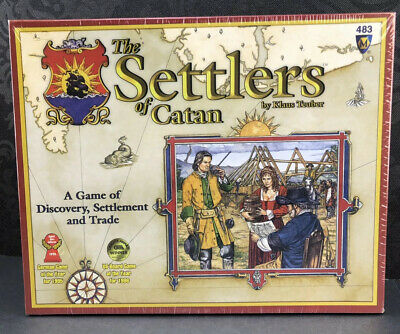 Settlers of Catan Board Game 483 Mayfair Klaus Teuber New Sealed
