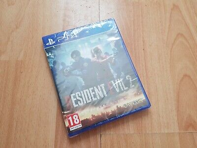 Resident Evil 2 REmake PAL UK PS4 Playstation 4 BRAND NEW & FACTORY SEALED RE2R