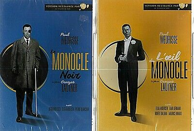 Le Monocle La Trilogie (1961-1962-1964)  Lot De 3 Dvd Paul Meurisse