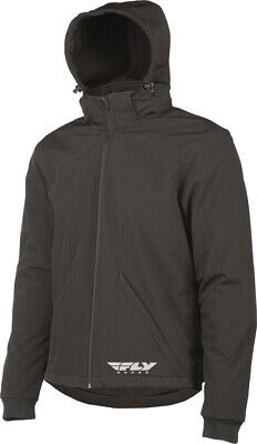 Armored Tech Hoodie Black Large Fly #6265 477-2009~4