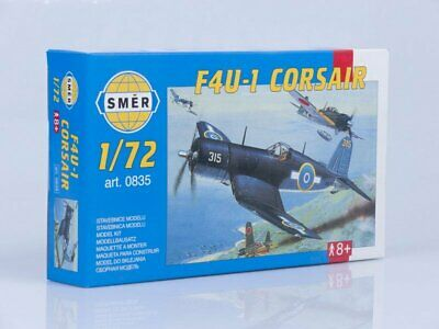 Smer 1//72 F4U-1 Corsair with etched parts # 0885