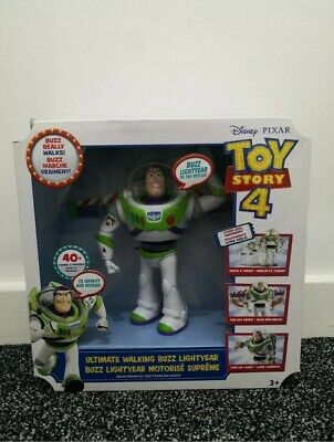 Disney Pixar Toy Story 4 Ultimate Walking Buzz Lightyear 40+ Sounds & Phrases