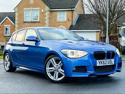 Bmw 1 Series 118D M Sport 5Dr 2012.5My Blue With F/S/H+18 Wheels+Xenons+Pdc+120D
