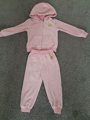 Beautiful Girls pink genuine juicy couture tracksuit age 2/3