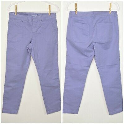 Old Navy Pixie Pants 6 Light Purple Career Casual Crop/Ankle