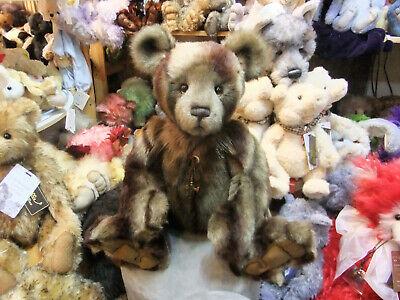 """NEW! SHANE Charlie Bears 19.5/"""" Jointed Plush Bear by Isabelle Lee CB181842B"""