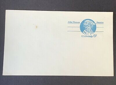 U S Postcard Scott UX64 Blue 6 Cent Unused 1972