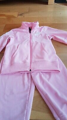 Girl's Age 10-12 Pink Nike Tracksuit-Excellent Condition As Hardly Worn