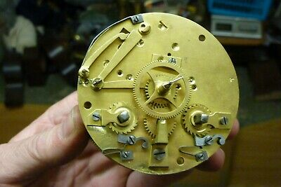 Good Clean Antique French Striking Movement - (B)--Free Post