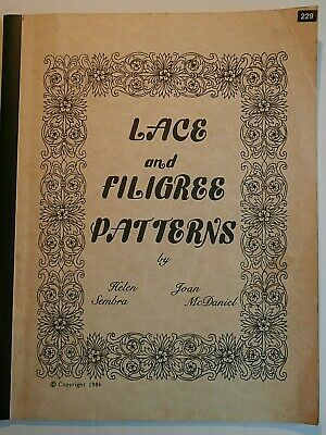 Lace and Filigree Patterns Cake Icing Decorating Helen Sembra Joan McDaniel