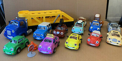 Vintage Chevron Cars Lot of 13 from 1997 to 2000 Excellent Condition